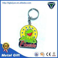 厂家定做金属卡通钥匙扣锌合金烤漆钥匙链定制广告创意礼品订做