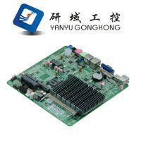 赛扬J1900四核NANO主板替代1037U 无风扇低功耗嵌入式迷你主机