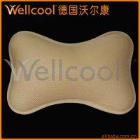 供应沃尔康3D汽车坐垫头枕 腰枕 坐靠垫 枕芯