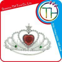 儿童节玩具 演出道具 舞会装扮道具 塑料皇冠 皇后皇冠 公主皇冠