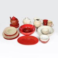 【小额批发】zaka复古中国风居家碗碟套装  宜家餐饮用品