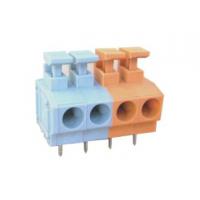 厂家直销免螺丝式 弹簧式PCB接线端子DA235 灰色 间距5.0