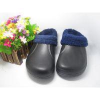 2014爆款加厚长毛绒家居拖鞋 出口拖鞋冬季 外贸eva防水棉拖鞋