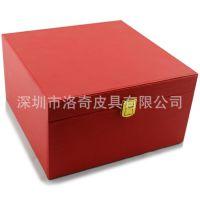 深圳工厂 高端定制 皮质月饼盒 月饼包装盒 皮盒 包装 中秋礼品盒