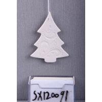 陶瓷圣诞树墙壁小挂件 sx120091 顺新工艺