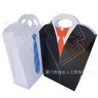 福建厦门厂家定制 衬衣手提纸袋 FSC牛皮纸袋 高端服装品牌配套