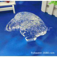 供应立体水晶老鹰头部模型 水晶动物  水晶佛像等水晶工艺品