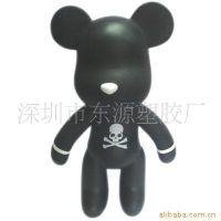 鬼头 骷髅头 搪胶玩具 平台玩具 暴力熊么么熊公仔 厂家直销 加工定制