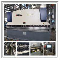 供应电液同步 数控折弯机WE67K-100/4000 高精度后挡料 品质保证