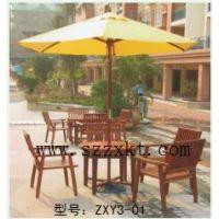 徐州价格低廉套桌椅,实木桌椅厂家,花园休闲桌椅—振兴