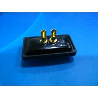 供应D-SUB连接器 2w2防水插头 2针焊接头 攀迪13356492285
