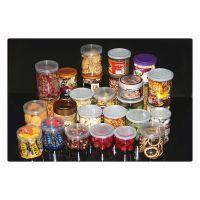 透明食品级pet食品包装塑料易拉罐