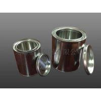 金铠包装定制马口铁罐供应0.37L 油漆罐 1L 方罐