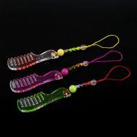 厂家直销马年个性创意实用小梳子手机挂件 义乌淘宝赠品礼品批发