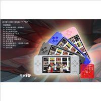 4.3寸带3000游戏机PSP双摇杆,超长待机PSP游戏机,超低价格MP5