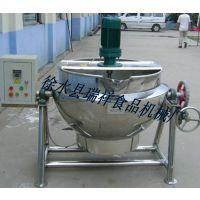 厂家直销不锈钢可倾式夹层锅,食品加工设备。