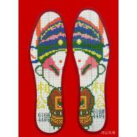 十字绣鞋垫加盟大图纯棉加香防臭喜字做法婚庆吉祥字花十字绣鞋垫