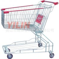 厂家促销特价 SCX12 超市购物车 购物车 美式购物车 带凳购物车