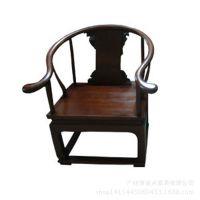 售楼部家具、番禺家具定制新中式家具生产工厂中式围椅