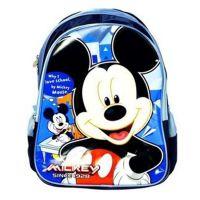 真彩M606098 休闲双肩卡通书包藏青色 迪士尼系列米奇学生书包
