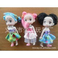 供应迷糊娃娃 挂件钥匙扣 可爱娃娃挂件 摩丝娃娃定做
