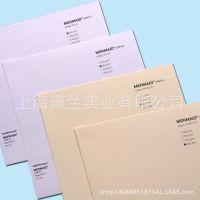 韩国进口毯纹自然机理高端艺术花纹纸名片文具礼品卡的