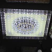 批发LED水晶灯饰批发现代简约高档水晶灯具客厅吸顶灯卧室灯