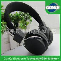 大量定做 头戴式耳机智能手机立体声新款头戴式耳机黑色音乐耳机