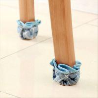批发雅超加厚韩式布艺家具餐桌椅子脚套 桌子椅凳桌椅脚垫4个装