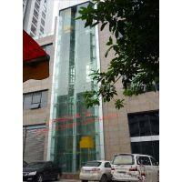 重庆全景电梯夹胶玻璃安装