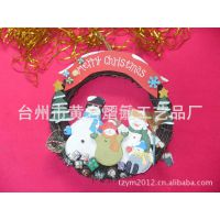 【供应】木制卡通环保圣诞挂件,圣诞礼品