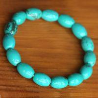 【款】批发湖北绿松石手链 美国绿松石饰品 水晶礼品赠品