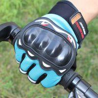 厂家直销 黑鹰半指男女手套 户外骑车运动手套 防滑露指新款手套