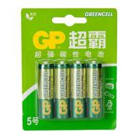 原装正品 GP超霸 AA 5号电池15G-L4 碳性电池 持久耐用 干电池