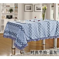 新款上市!全棉斜纹桌布 餐桌布 田园欧式简约风格 厂家直销