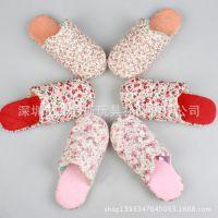 深圳四季室内拖鞋生产厂家 欢迎来图来样定做棉拖 毛绒棉拖鞋订做