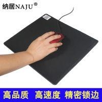 纳居大号加厚锁边游戏办公鼠标垫超强韧性优质橡胶电脑鼠标垫批发