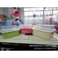 碗柜 碗盆 塑料碗柜 厨用塑料碗柜 餐具收纳盆 带盖碗柜 塑料柜