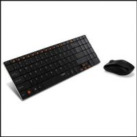 热销无线键盘 办公室常用键盘 超薄轻巧无线键盘 可定制logo