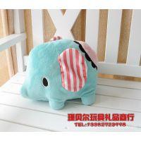 日本San-x忧伤马戏团系列之大象公仔 萌小象小抱枕/可爱小靠垫