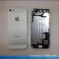 全新 苹果5代 白色 后盖带配件一套 特价批发