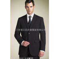 供应男式三扣套装西服  男式西服套装 男式 亚麻西服 男士西装