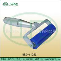 生产批发6寸铝架手动硅胶滚筒,硅胶粘尘滚筒,粘尘滚轮