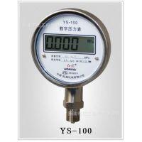 供应  精密数字压力表3.6V(干电池)   YBS-100   红旗正品