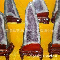萃艺林 精选天然紫水晶洞聚宝盆 批发收藏风水 礼品摆件141025114