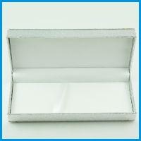 实用金银色笔盒 时尚大气塑料笔盒 高档礼品包装用笔纸盒笔盒批发