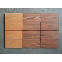 供应100x200x12红木纹防滑砖