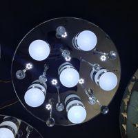 郑州批发LED水晶灯饰批发现代简约高档水晶灯具客厅吸顶灯卧室灯