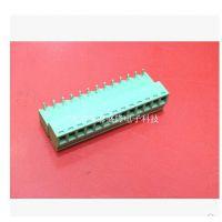 插拔式接线端子KF2EDG 3.81 直/弯针间距3.81MM(2P-15P)每位0.22