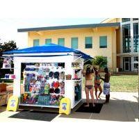 游乐园零售花车设计加工  商场中庭可移动展示道具制作 促销展架